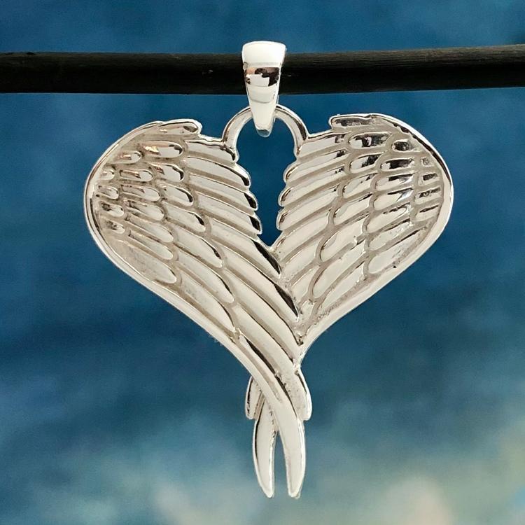 Maya - Mycket vackra änglavingar hänge