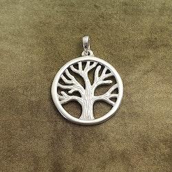 Livets träd - Hänge med ritsad stam