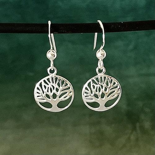 Livets träd - Mycket snygga örhängen i kupig design
