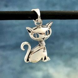 Molly - Fint katthänge i silver