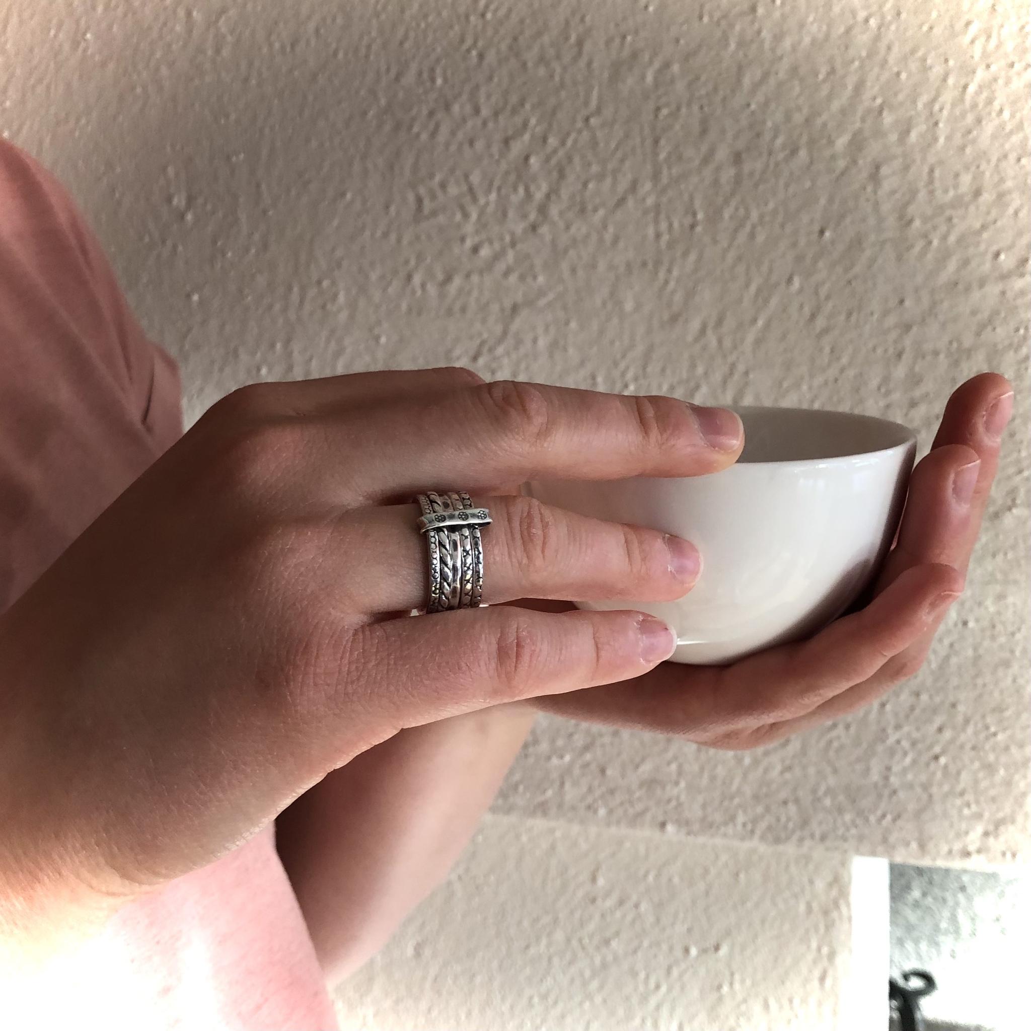 Minna - Fem ringar i silver
