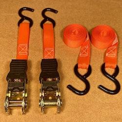 2-pack spännband