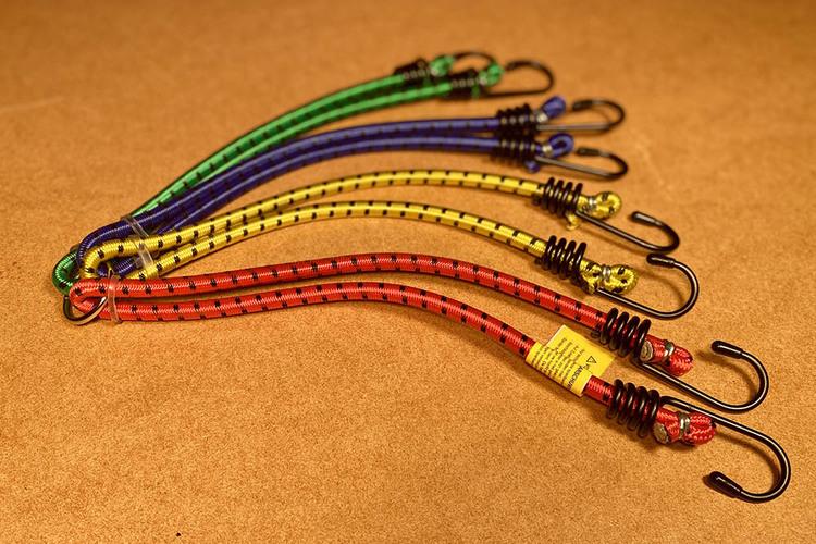 8-armad gummispännband