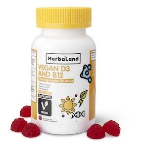 Herbalands Vegan D3+B12