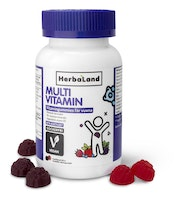 Herbaland Multivitamingummies vegan, 60 st