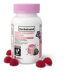 Herbaland Vegan Collagen Booster gummies, 60 st