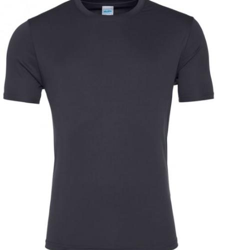 T-skjorte Herre Teknisk Polyester Smooth