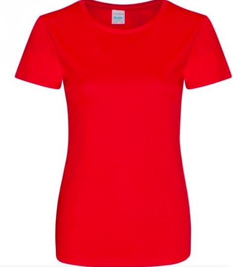 Teknisk T-skjorte Kvinne Perforert stoff.
