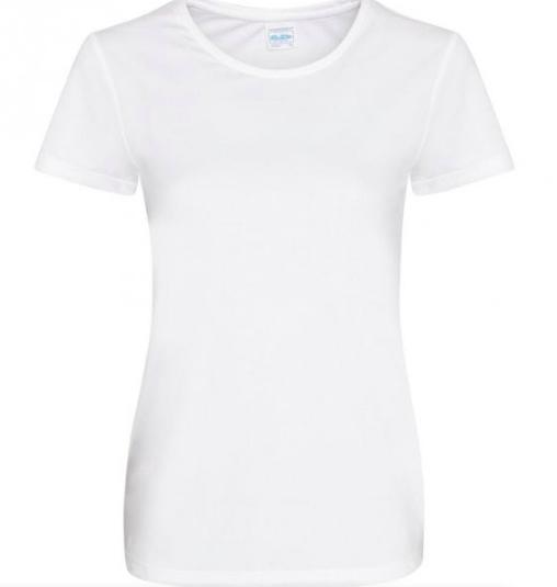 Teknisk T-skjorte Kvinne Glatt stoff