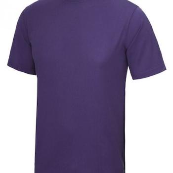 T-skjorte Herre Teknisk Polyester Perforert