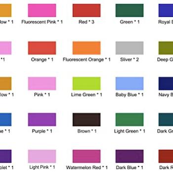 Enkelt trykk i en farge