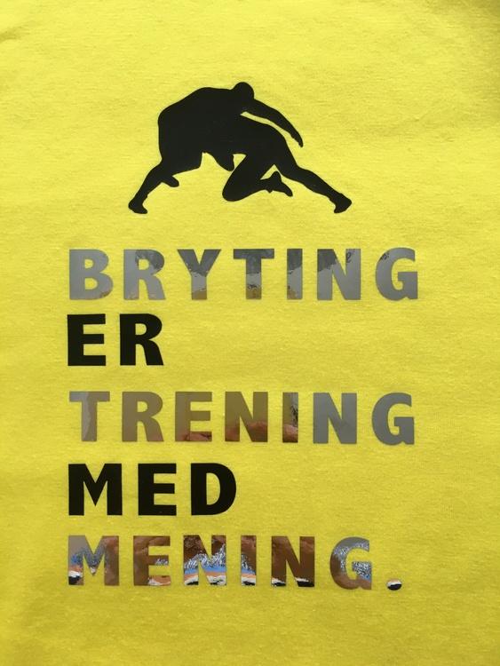 Bryting T-skjorte Barn Unisex