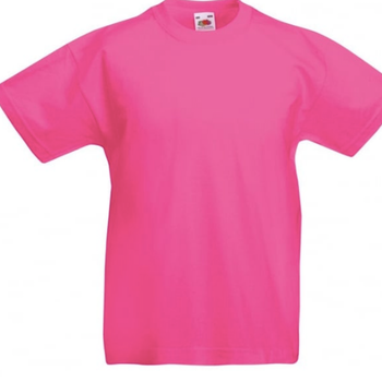 T-skjorte Unisex Polycotton Barn