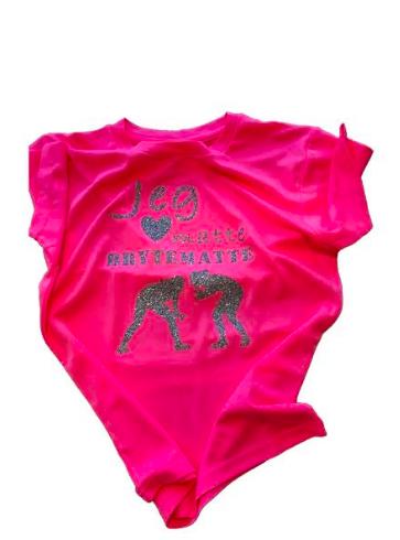 T-skjorte Jentebryting Glitter