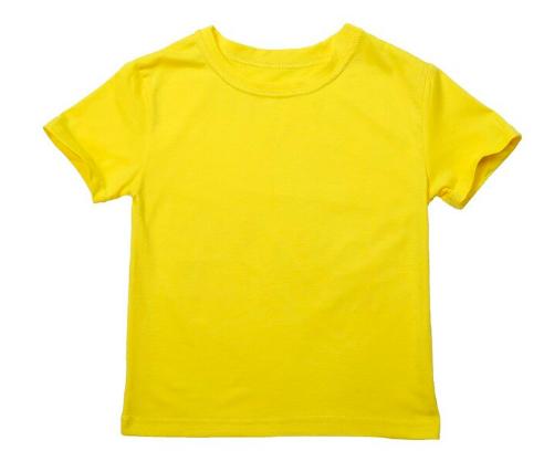 Enkel t-skjorte i bomull for barn