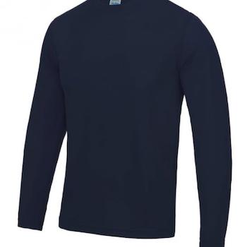 Langermet T-skjorte Herre Teknisk Polyester