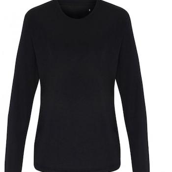Langermet T-skjorte Kvinne Teknisk Polyester
