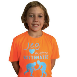 T-skjorte Guttebryting Glitter
