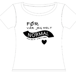 Håndtrykket Design #17 Mamma t-skjorte