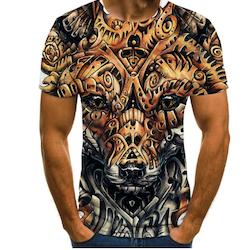 T-skjorte 3D mønster