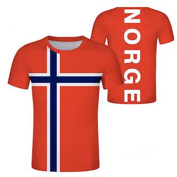 Norge T-skjorte