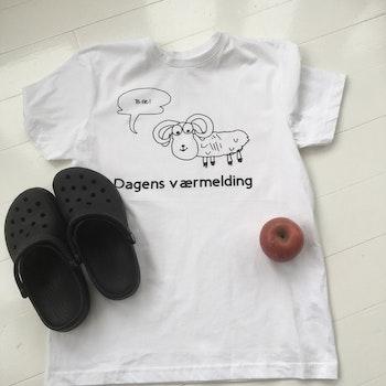 Værmelding T-skjorte