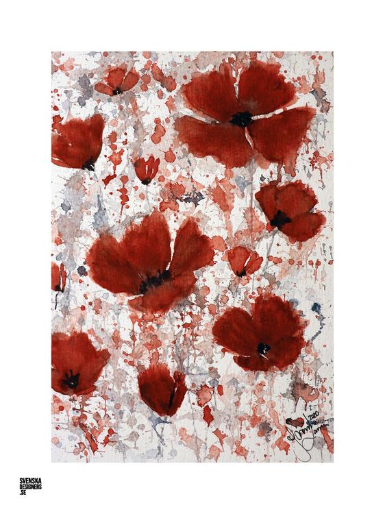 Beautiful Poppy - medium