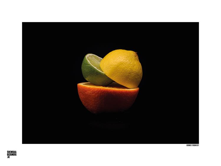 Citrusfruit liggande