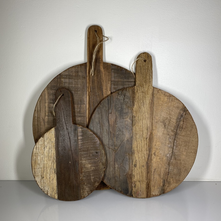 Wooden Boards, Rund