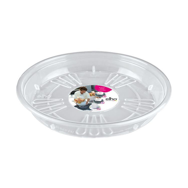 Uni- saucer round , transparent