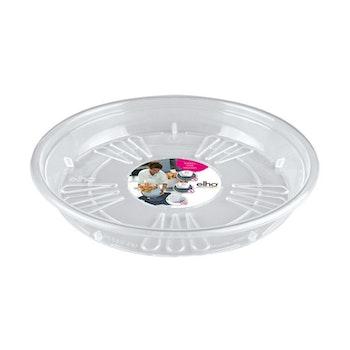 Uni- saucer round , transparent 18 cm