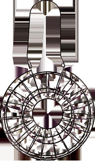 Fågelmatare talgboll Circle