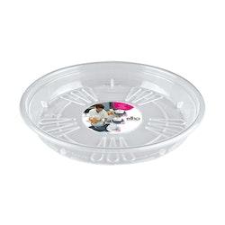 Uni- saucer round , transparent 16 cm