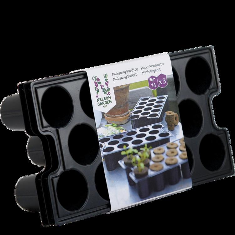 Minipluggbrätte, 3-pack