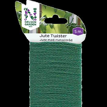 Jute Twister grön 5 m