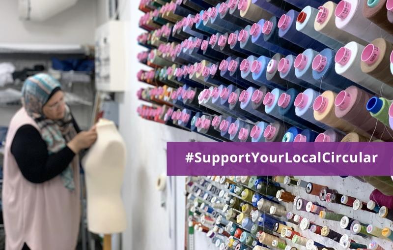 Support your local circular: En guide med tips om lokala cirkulära företag