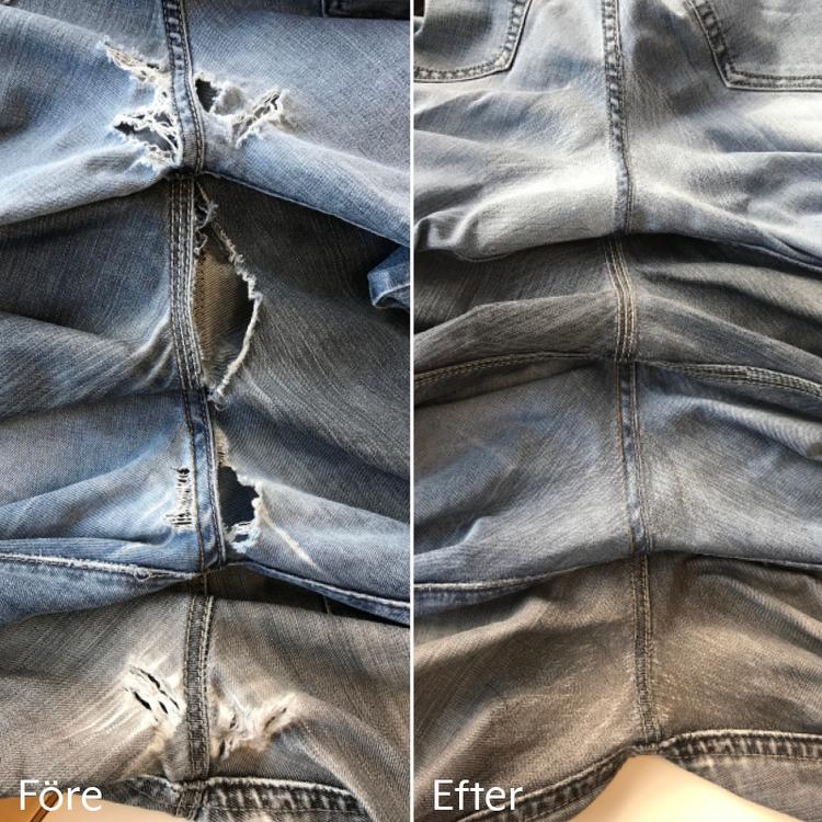 Laga stora kvantiteter kläder