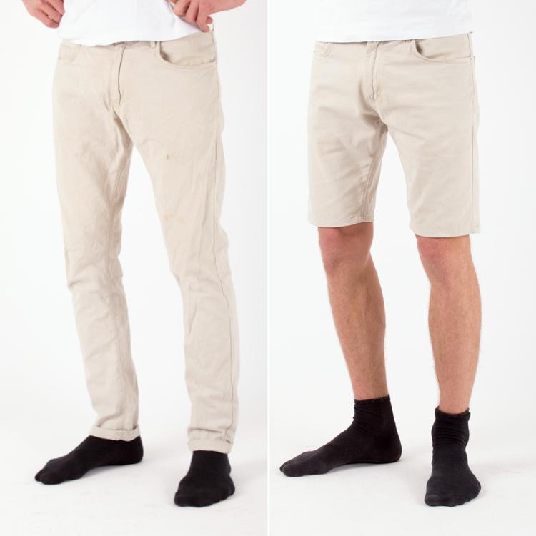 Gör byxor till shorts