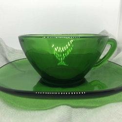 Kaffekopp, grön - Vereco