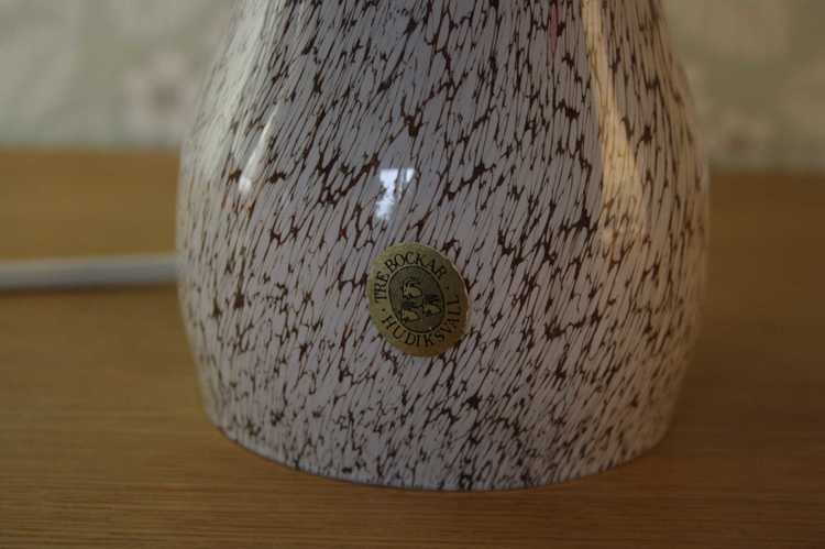 Svamplampa - Tre Bockar närbild fot
