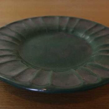 Assietter, grön/svart - Ekeby