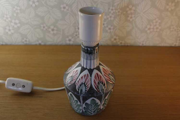 Lampfot i keramik - Tilgmans perspektiv