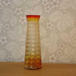 Våffelvas, gul/orange - Paul Kedelv, Reijmyre