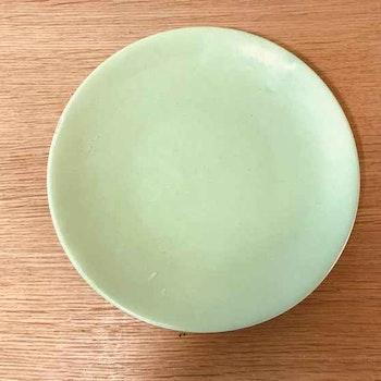 Assiett, celadongrön - Ekeby