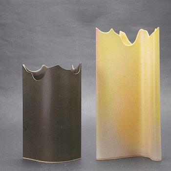 Keram, två vaser - Moa Rudebert, Svalbo keramik