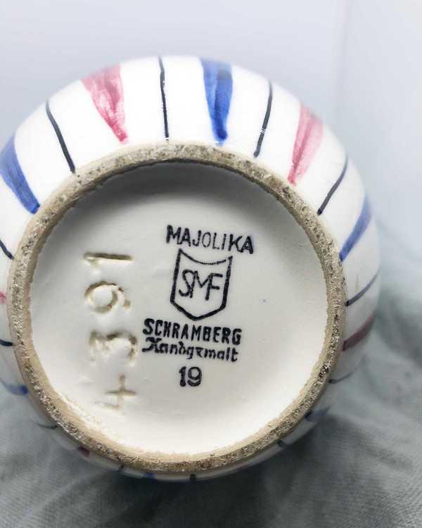 Majolika vas - Schramberg