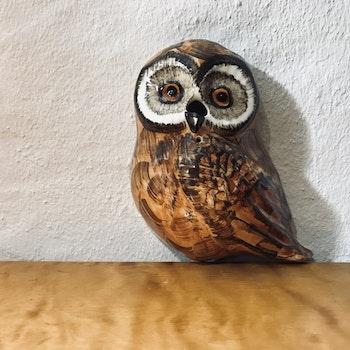 Snörgömma, Uggla - Babbacombe Pottery, England