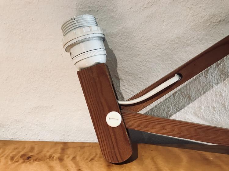 Dragspelslampa - Ikea lamparmatur