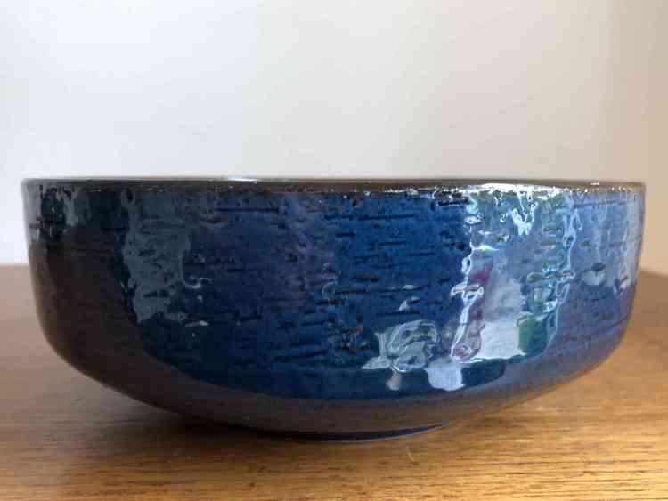 Skål, blå/brun - Gabriel Sweden