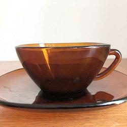 Kaffekopp, brun - Vereco